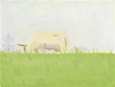 Alex Katz-Study for Three Cows-1981
