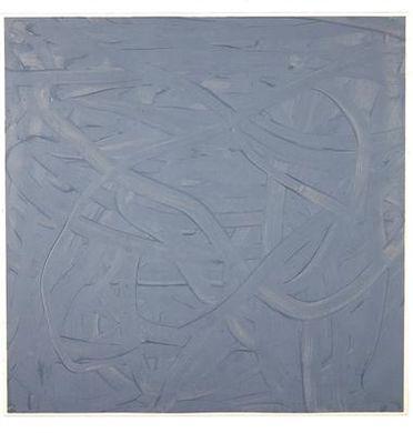 Gerhard Richter-Vermalung (Grau) / Inpainting (Grey) / Fingermalereien (Finger Painting) / Senza Titolo-1971