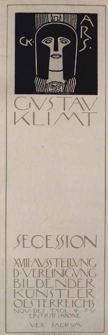 Gustav Klimt-Kopf der Pallas Athene (Poster - 'Head of Pallas Athene')-1903