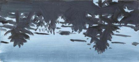 Alex Katz-Blue Forest (Reflection)-2008