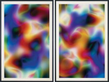 Thomas Ruff-Substrat 19 II; Substrat 20 I-2003