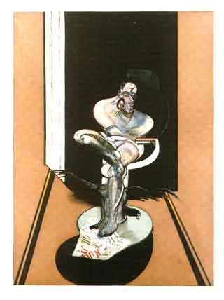 Francis Bacon-Seated Figure-