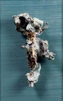 Lucio Fontana-Crocifissione-1953