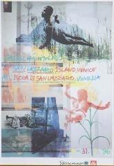 Robert Rauschenberg-Robert Rauschenberg - Rauschenberg at San Lazzaro Island (Exhibition poster)-1996