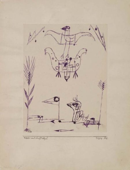 Paul Klee-Luft = Und Wasservogel-1919