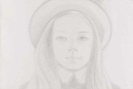 Alex Katz-Amanda II-1973