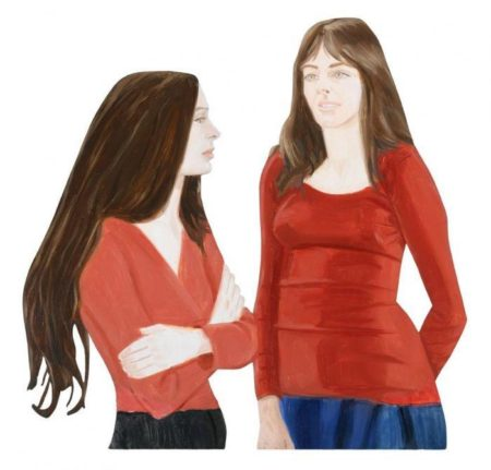 Alex Katz-Joan and Carol-1970