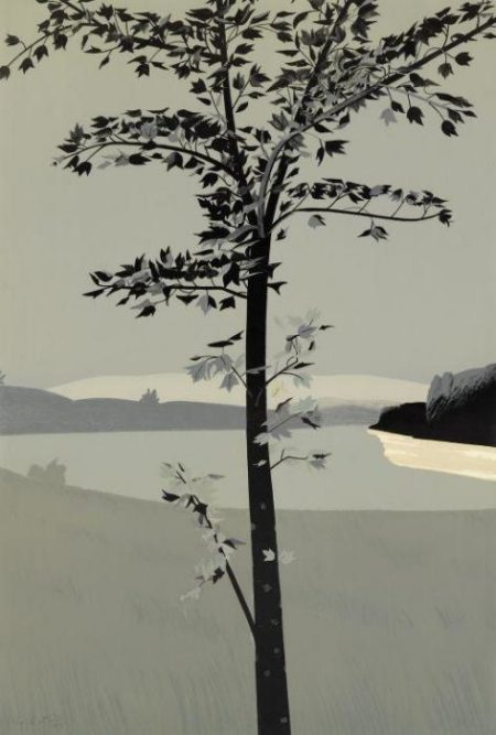Alex Katz-Swamp Maple II (M 36)-1970