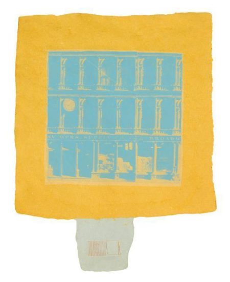 Robert Rauschenberg-Robert Rauschenberg - Hind From Pages And Fuses-1974
