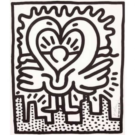 Keith Haring - Kutztown Connection-1984