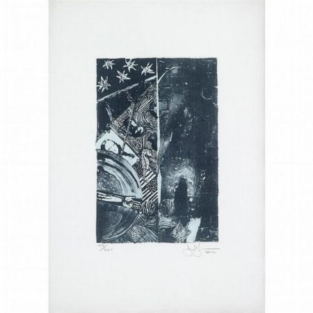 Jasper Johns-Summer - Blue (Ulae 254)-1991