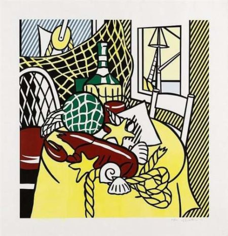 Roy Lichtenstein-Still Life With Lobster-1974