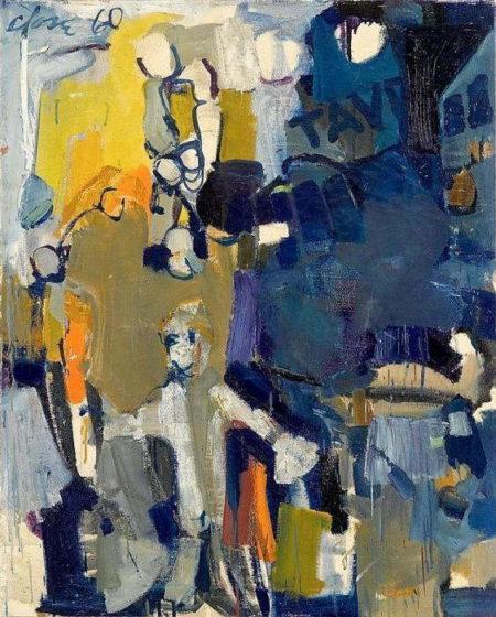 Chuck Close-Untitled-1960