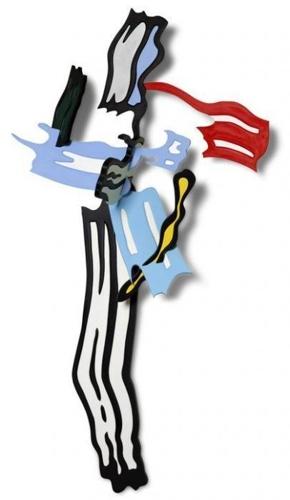 Roy Lichtenstein-Brush Stroke V-1986