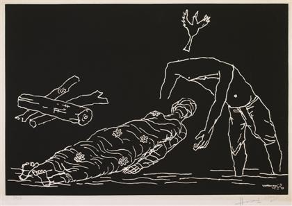 Maqbool Fida Husain-Varanasi IV-1973