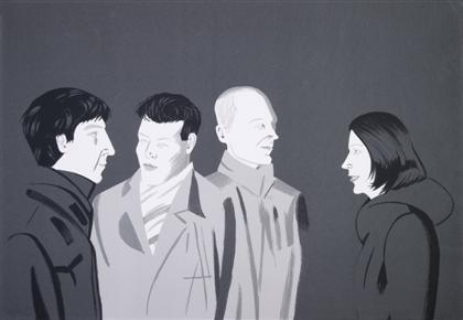 Alex Katz-Unfamiliar Image-2001