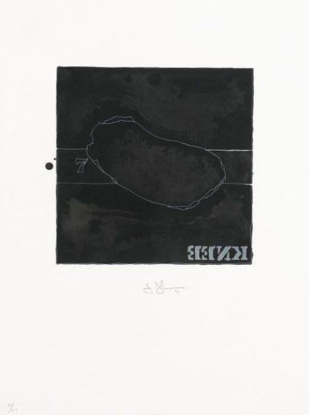 Jasper Johns-Knee-1974