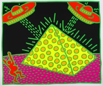 Keith Haring-Keith Haring - Ohne Titel-1983
