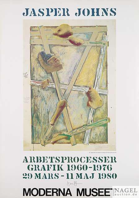Jasper Johns-Jaspar Johns - Arbetsprocesser-1980