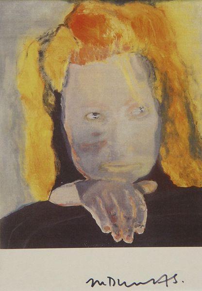 Marlene Dumas-Ohne Titel-