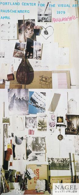 Robert Rauschenberg-Robert Rauschenberg - Portland Center of Art (Exhibition poster)-1979