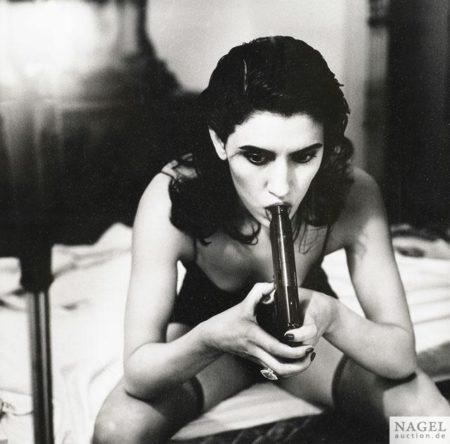 Helmut Newton-Jo Champa, Hotel Chelsea, New York, (1988)-1988