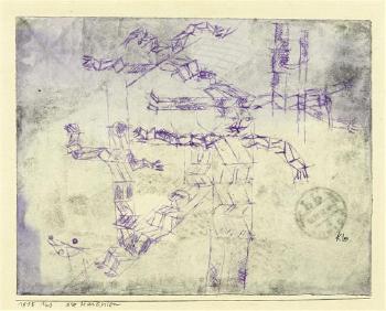 Paul Klee-Die Martyrien (The Martyrs)-1915