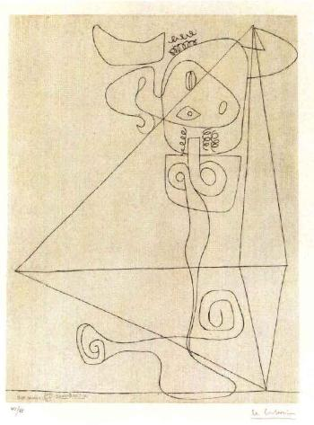 Le Corbusier-Komposition-1965