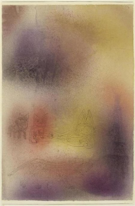 Paul Klee-Grausame Tiere (Ferocious Animal)-1926