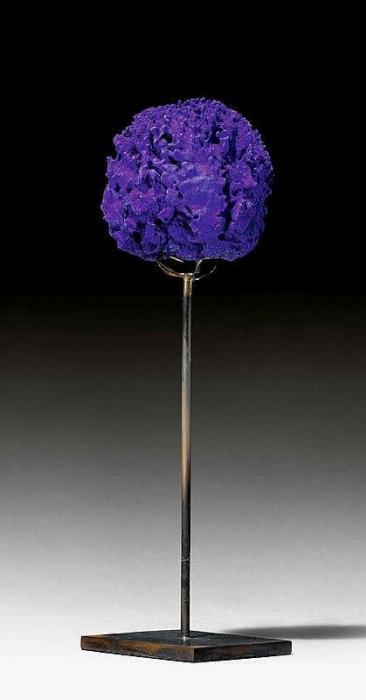 Yves Klein-Ohne Titel (Eponge Bleue) SE 301-1961