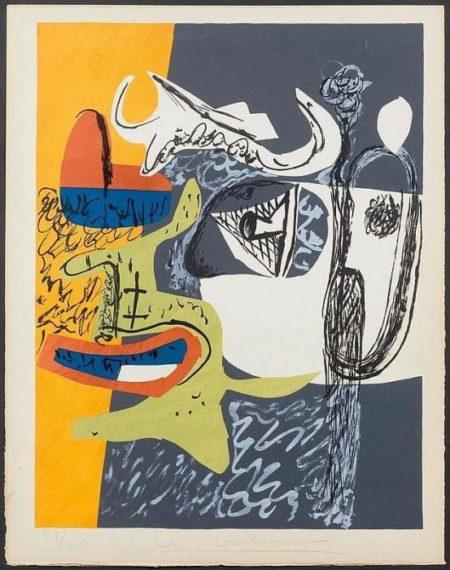 Le Corbusier-Bull head-