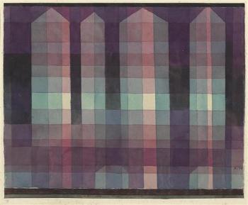 Paul Klee-Vier Turme-1923