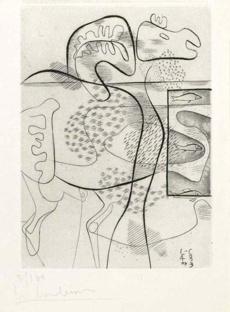 Le Corbusier-Dinosaure-1948