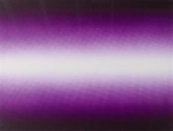 Anish Kapoor-Shadow III (Purple)-2009