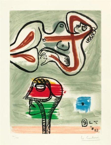 Le Corbusier-Aus 'Unite'-1953