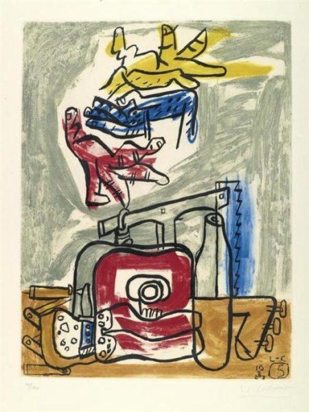 Le Corbusier-Komposition Nr.5-