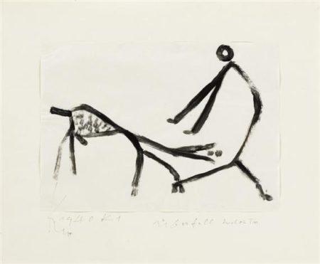 Paul Klee-Uberfall Durch Ein Tier-1940