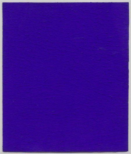Yves Klein-Ohne Titel (Monochrome IKB 299)-1959