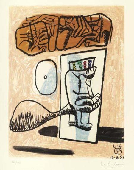 Le Corbusier-Unite Nr.4A-1965