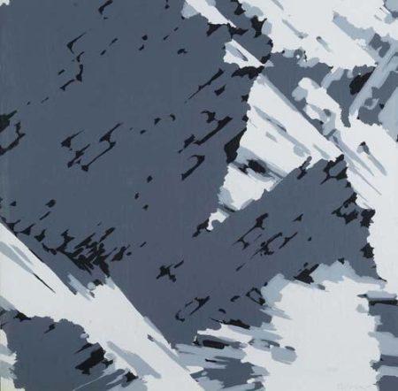 Gerhard Richter-Schweizer Alpen II B3 (Swiss Alps II B3)-1969