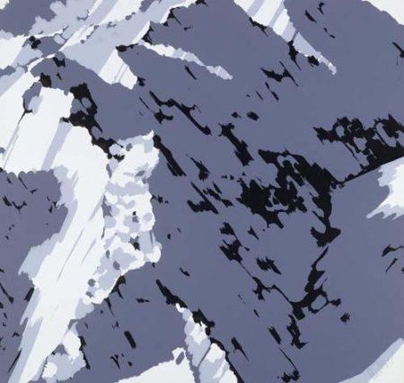 Gerhard Richter-Schweizer Alpen II A1 (Swiss Alps II A1)-1969