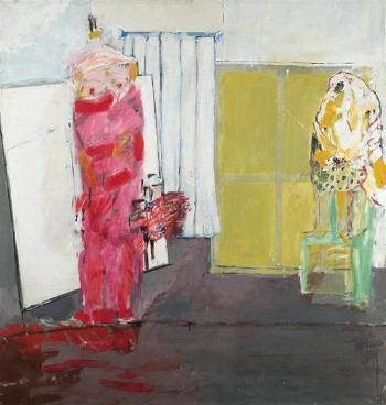 Anselm Kiefer-Rote Frau-1967