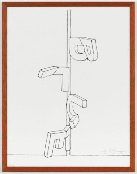 Jasper Johns-Blue (1991)-1991