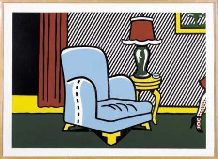 Roy Lichtenstein-La Sortie-1990