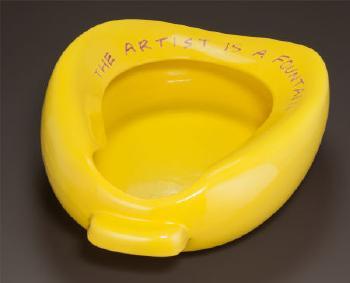 John Baldessari-The Artist is a Fountain-2002