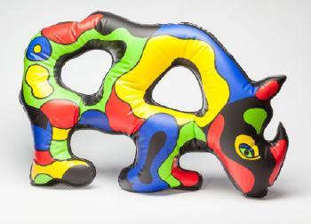 Niki de Saint Phalle-Inflatable Rhino-1999