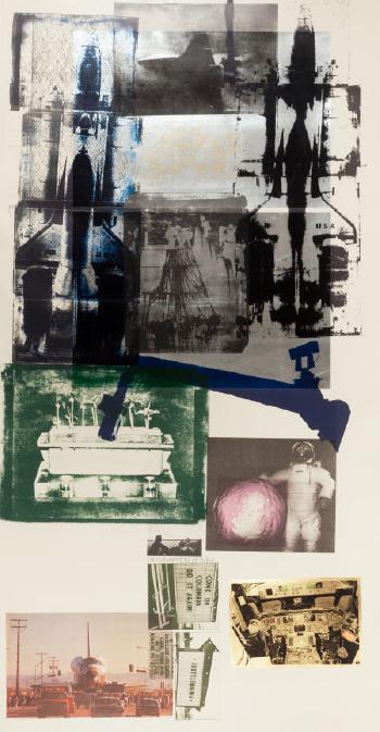 Robert Rauschenberg-Robert Rauschenberg - Hot Shot-1983