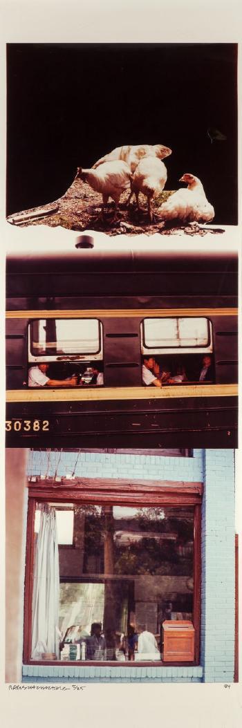 Robert Rauschenberg-Robert Rauschenberg - Studies For Chinese Summerhall III-1984