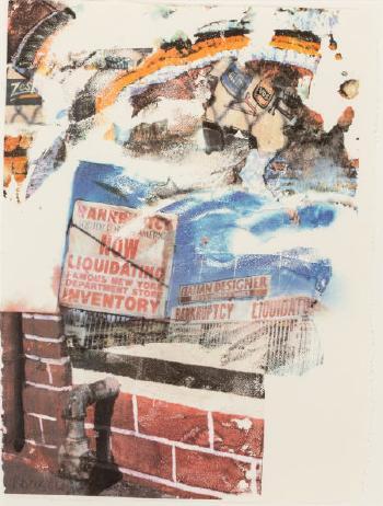 Robert Rauschenberg - L.A. Uncovered # 6-1998