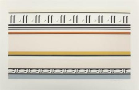 Roy Lichtenstein-Entablature VIII-1976